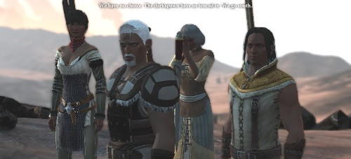 Redgren Hawke with his family. Showing off how the darker skin models translate to other family members.