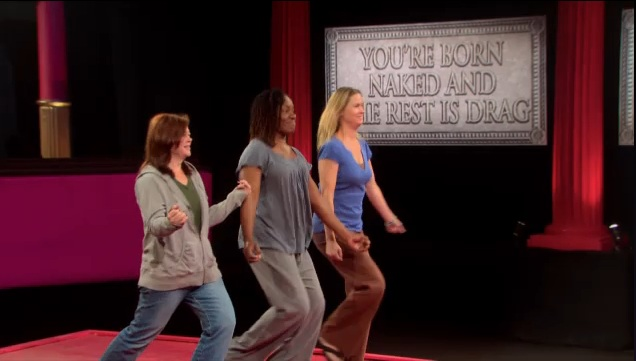 The women of the first episode.