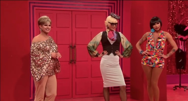 The professors! Shannel, Raja, and Raven.