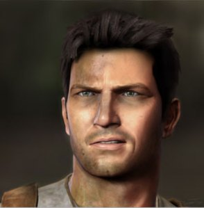 The 'ruggedly' handsome, smart-ass Nathan Drake.