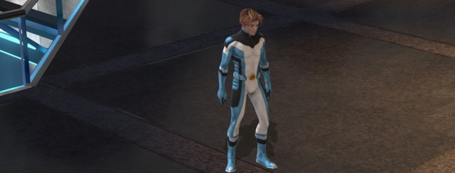 Bobby Drake, aka Iceman, in his All-New X-Men oufit.